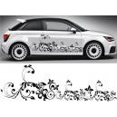 Audi A1 Side Stripe Style 13