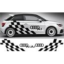 Audi A1 Side Stripe Style 17