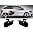 Audi A1 Side Stripe Style 19