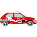 Citroen Saxo Rally Full Graphics Kit