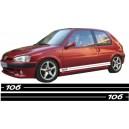 Peugeot 106 Side Stripe Style 1