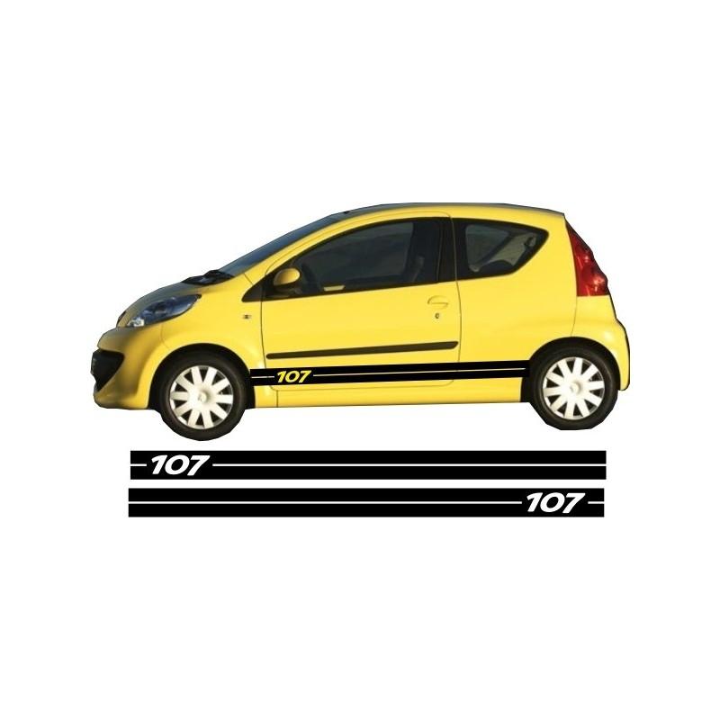 Peugeot 107 Side Stripe Style 1
