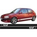 Peugeot 106 Side Stripe Style 10