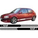 Peugeot 106 Side Stripe Style 11