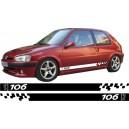 Peugeot 106 Side Stripe Style 12