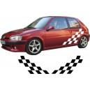 Peugeot 106 Side Stripe Style 123