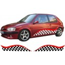 Peugeot 106 Side Stripe Style 126