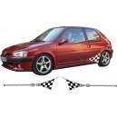 Peugeot 106 Side Stripe Style 129