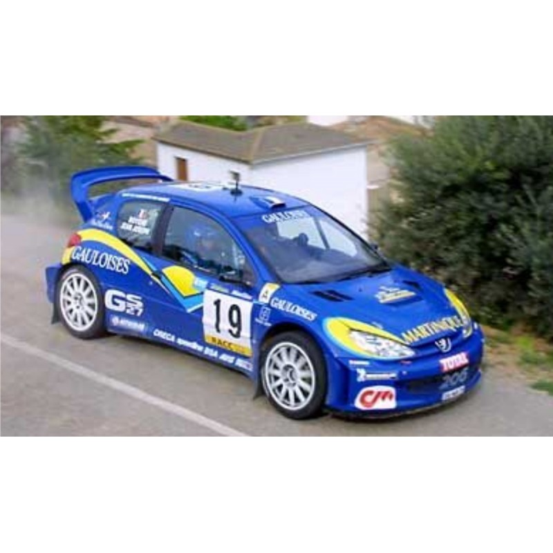 Peugeot 206 Wrc Gauloises Full Rally Graphics Kit