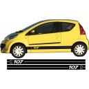 Peugeot 107 Side Stripe Style 10