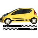 Peugeot 107 Side Stripe Style 11
