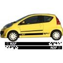 Peugeot 107 Side Stripe Style 12