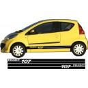 Peugeot 107 Side Stripe Style 13