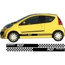 Peugeot 107 Side Stripe Style 14