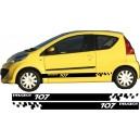 Peugeot 107 Side Stripe Style 15