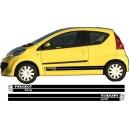 Peugeot 107 Side Stripe Style 16