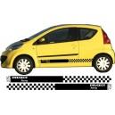 Peugeot 107 Side Stripe Style 17