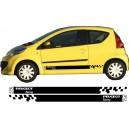 Peugeot 107 Side Stripe Style 18