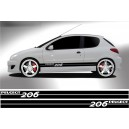 Peugeot 206 Side Stripe Style 12