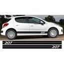 Peugeot 206 Side Stripe Style 1