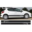 Peugeot 207 Side Stripe Style 3