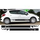 Peugeot 207 Side Stripe Style 5