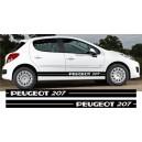 Peugeot 207 Side Stripe Style 6
