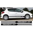Peugeot 207 Side Stripe Style 7