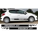 Peugeot 207 Side Stripe Style 8