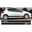 Peugeot 207 Side Stripe Style 9