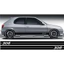 Peugeot 207 Side Stripe Style 1