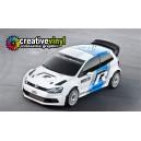 VW Polo Motorsport Full Rally Graphics Kit