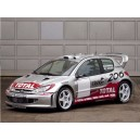 Peugeot 206 WRC Full Rally Graphics Kit