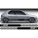 Peugeot 306 Side Stripe Style 10