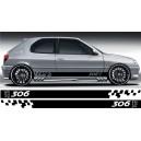 Peugeot 306 Side Stripe Style 11