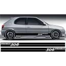 Peugeot 306 Side Stripe Style 12