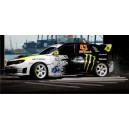 Subaru Impreza Monster Gymkhana 2008 WRC Full Rally Graphics Kit