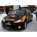 Peugeot 206 Havoline WRC Full Rally Graphics Kit