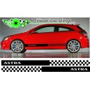 Vauxhall Astra Side Stripe Style 4