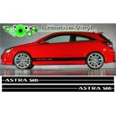 Vauxhall Astra Side Stripe Style 6