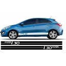 Vauxhall Astra Side Stripe Style 1
