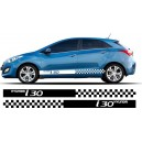 Hyundai i30 Side Stripe Style 1