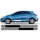Hyundai i30 Side Stripe Style 16