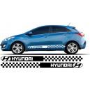 Hyundai i30 Side Stripe Style 19