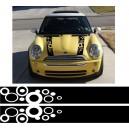 Mini Bonnet Stripe Style 2