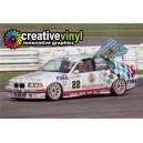 BMW M3 GTR 1993 DTM BTCC Warsteiner Full Graphics Kit.