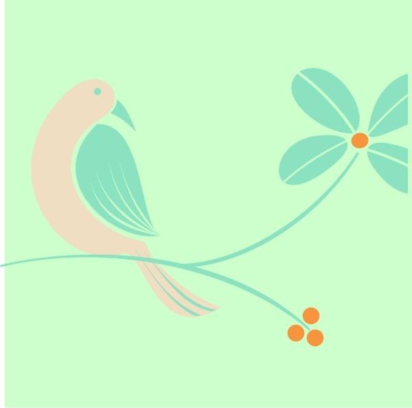Mint Green & Ivory Beige