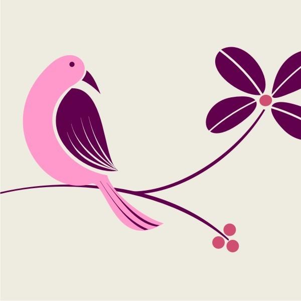 Burgundy & Soft Pink